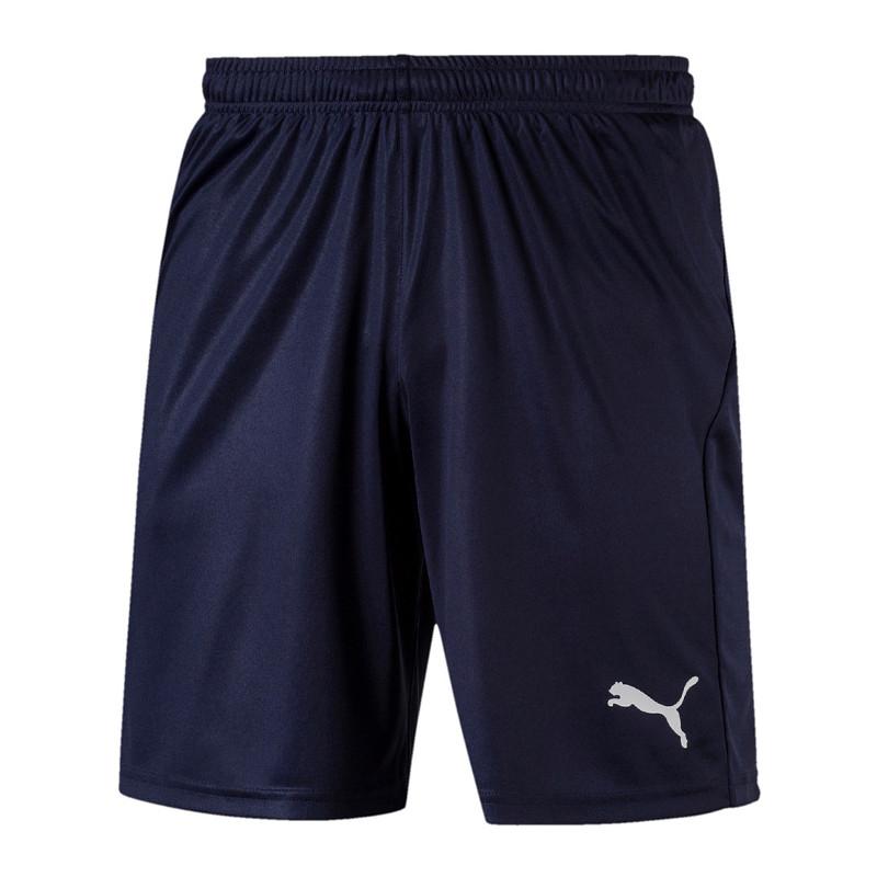 Puma Ligue Core Short Bleu Blanc f06