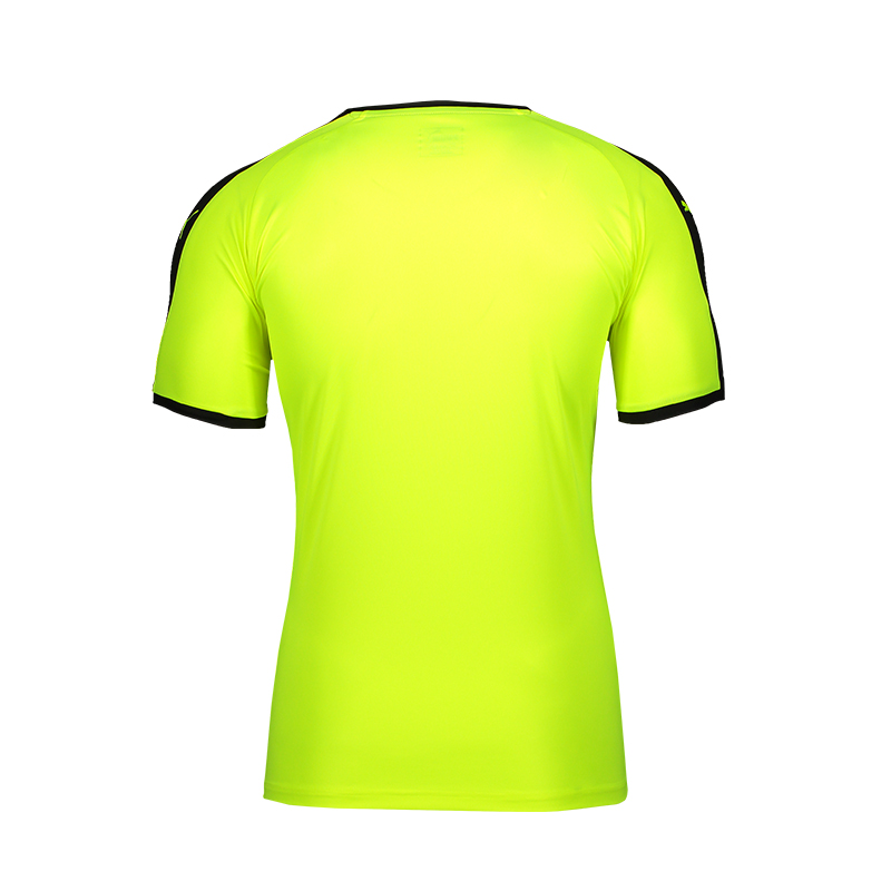 Puma-Liga-Camiseta-Manga-Corta-Amarillo-Negro-F40