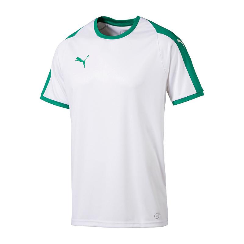 Puma-Liga-Camiseta-Manga-Corta-Blanco-Verde-F15