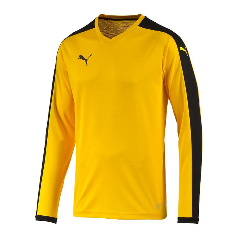maglietta puma giallo