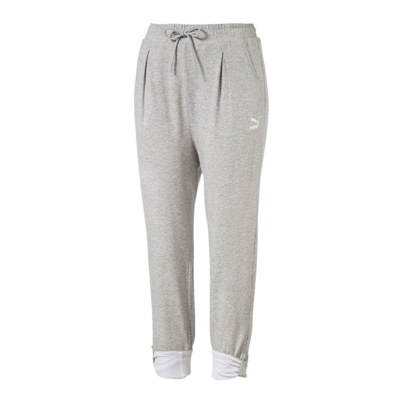 Puma Roll-Up Pantaloni women grey F04