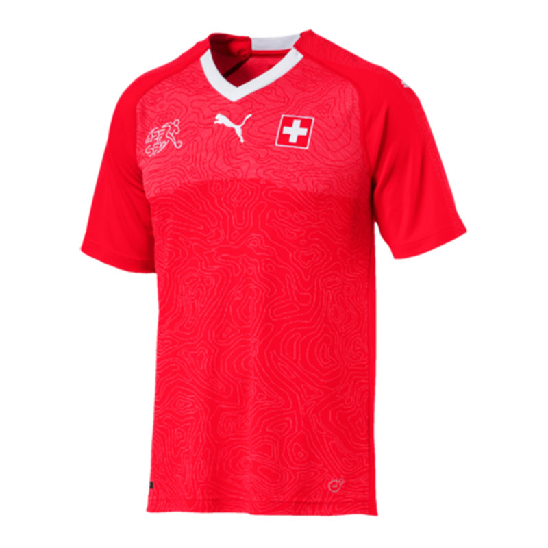PUMA Schweiz Trikot WM Home WM Trikot 2018 Rot F01 30359c