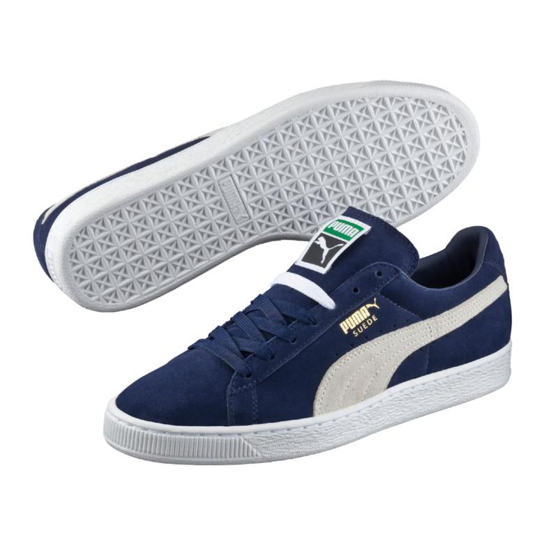 Puma Suede Classic+ Sneaker Blau Weiss F51