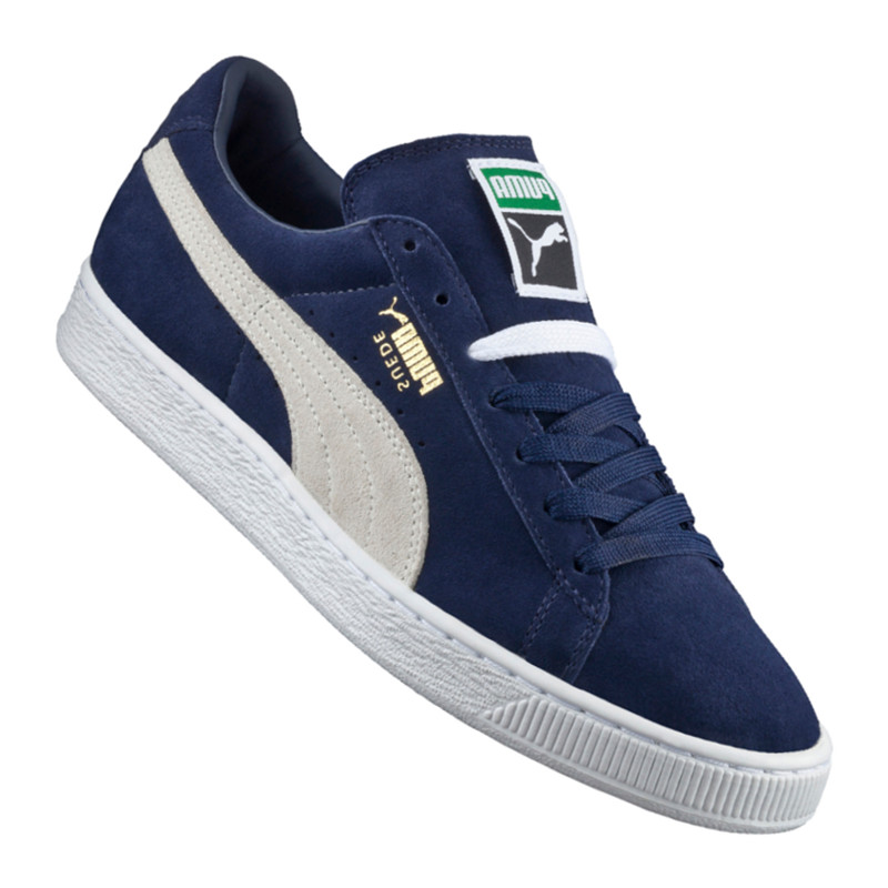 Puma Suede Classic+ Sneaker Blue White F51 The latest discount shoes for men and women