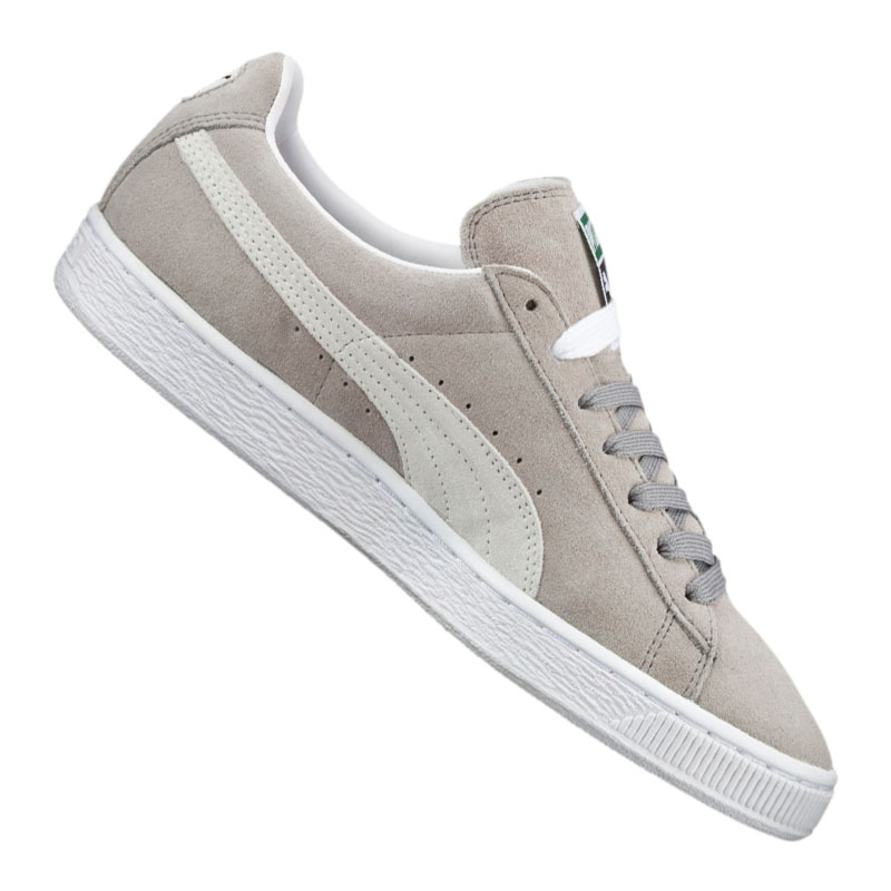 PUMA SUEDE CLASSIC Sneaker Grigio Bianco f66