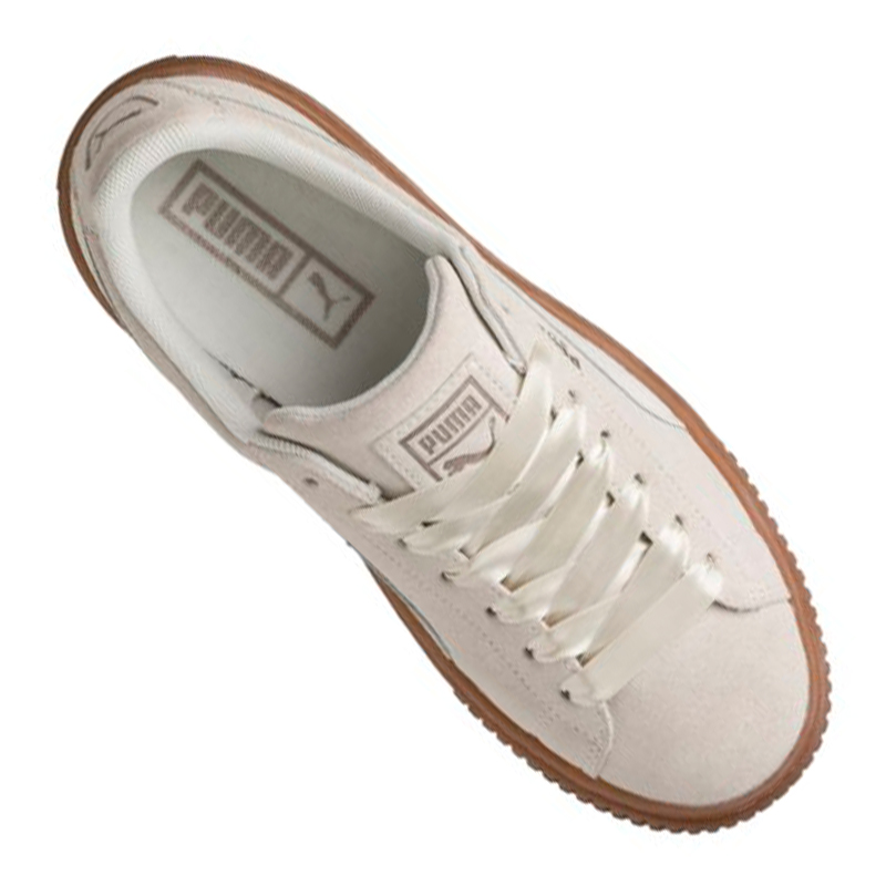 Details zu PUMA Suede Platform Bubble Sneaker Damen Beige F02