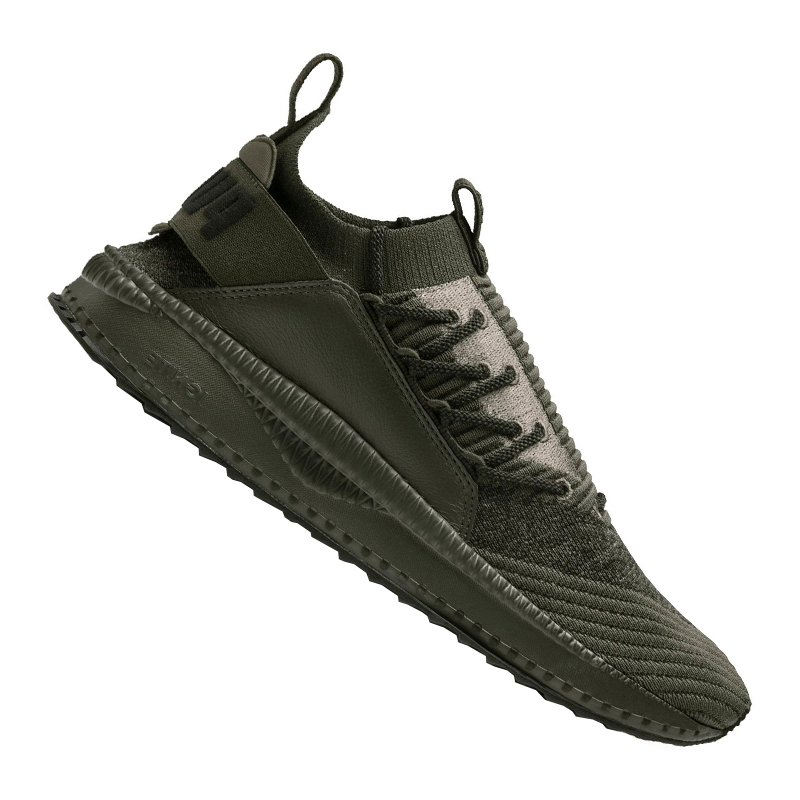 Dettagli su Puma Tsugi Jun Barocca Sneakers Verde Scuro F01