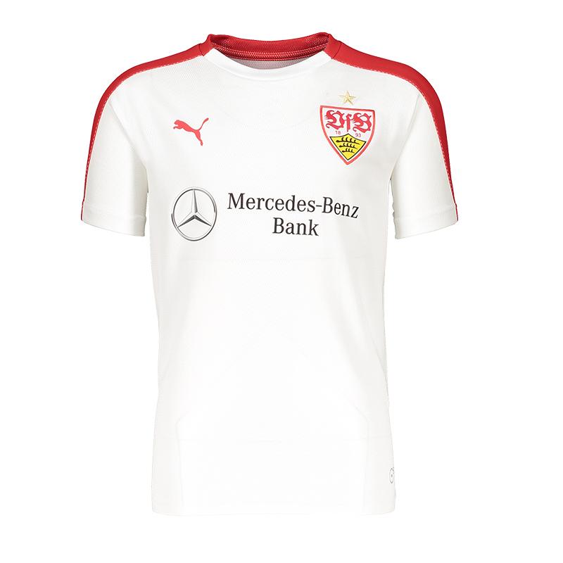 PUMA VfB VfB VfB Stuttgart Stadium T-Shirt Kids Weiss F01 2d9040