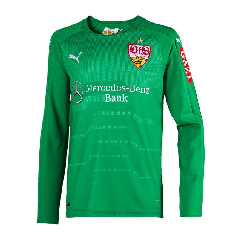 712b303ef8 La imagen se está cargando Puma-VfB-Stuttgart-Camiseta-Portero-Ninos -2018-2019