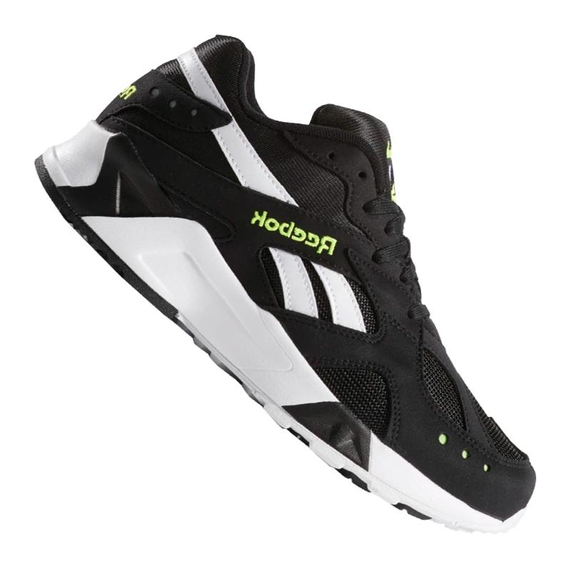 Reebok Aztrek Sneaker Black White Green