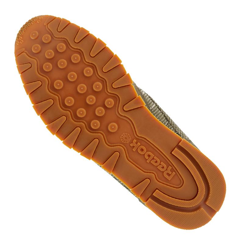 Ebk Clásico Cuero Zapatillas Reebok Verde TqBHxn1w