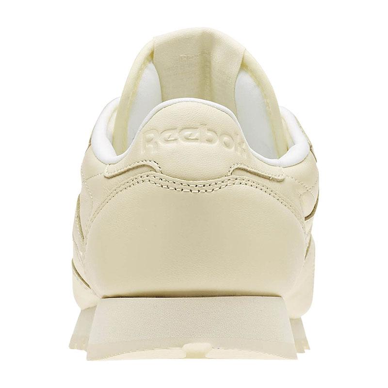 Reebok-Classic-Leather-Pastels-Sneaker-Women-039-s-Yellow