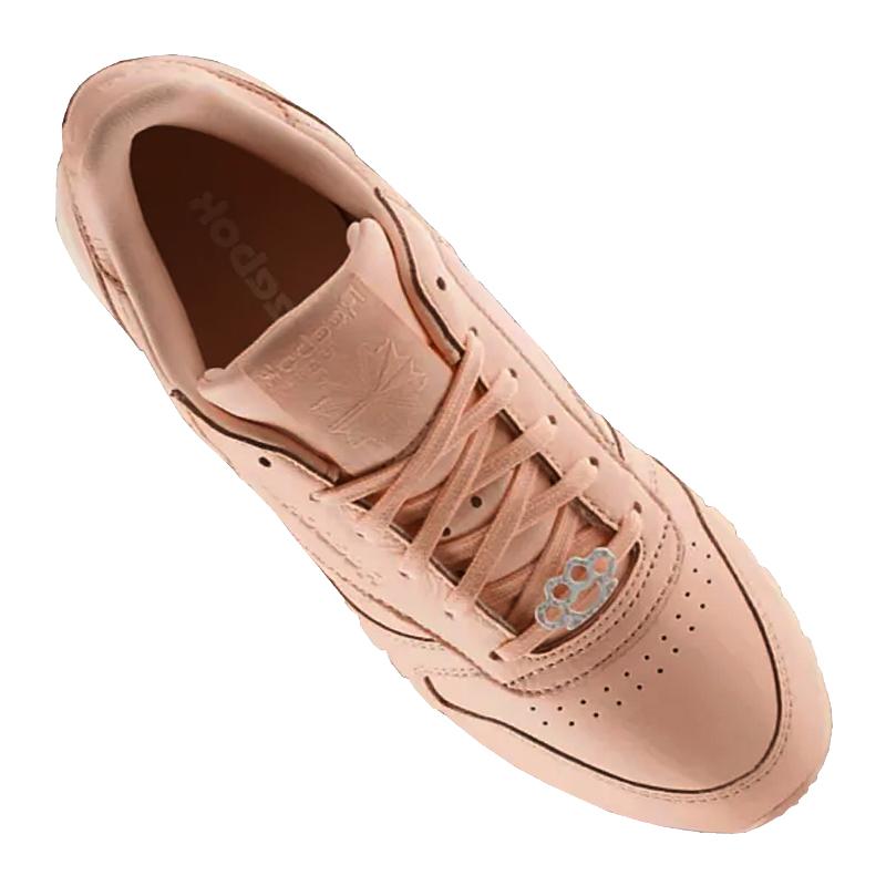 Reebok Classic Rosa Leder Sneaker Rosa Classic Damen 62d206