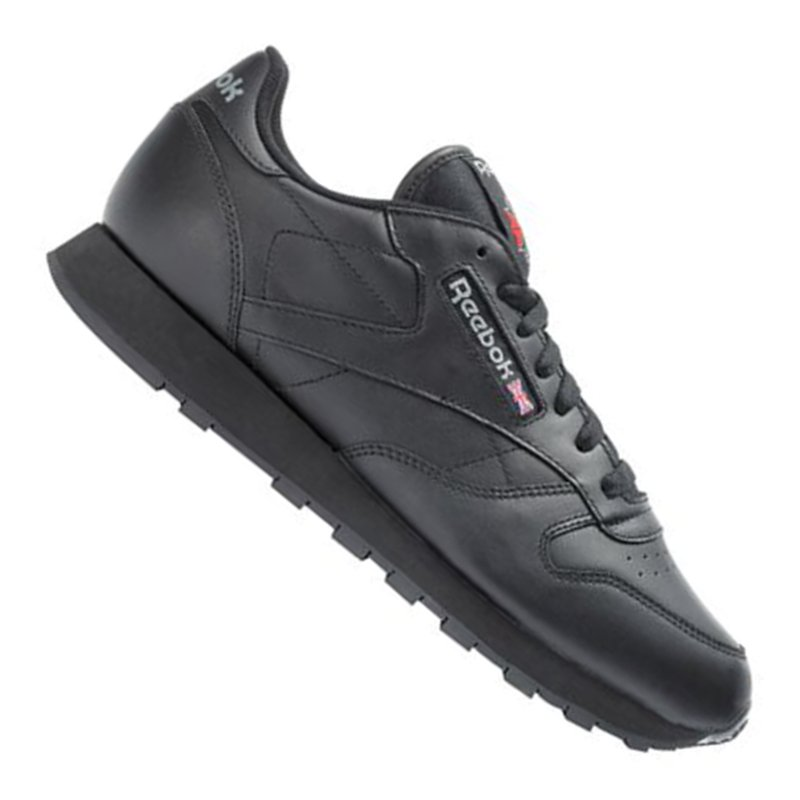 reebok classic leather sneaker schwarz ebay. Black Bedroom Furniture Sets. Home Design Ideas