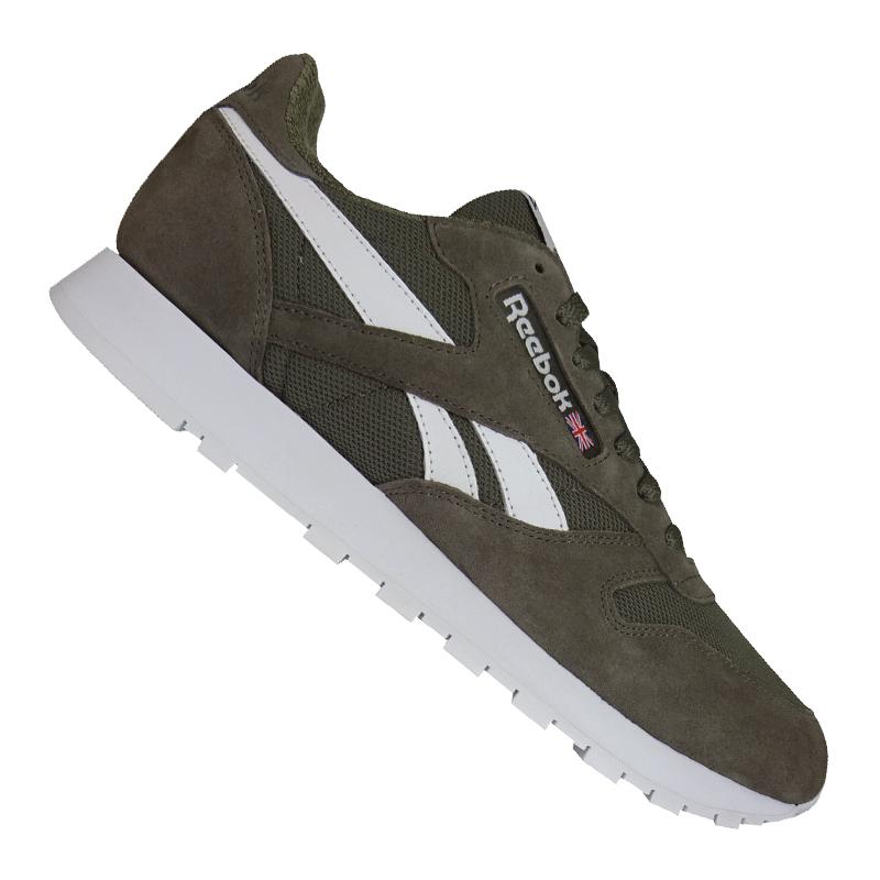 Reebok Classic pelle mu Sneaker grigiie Bianco