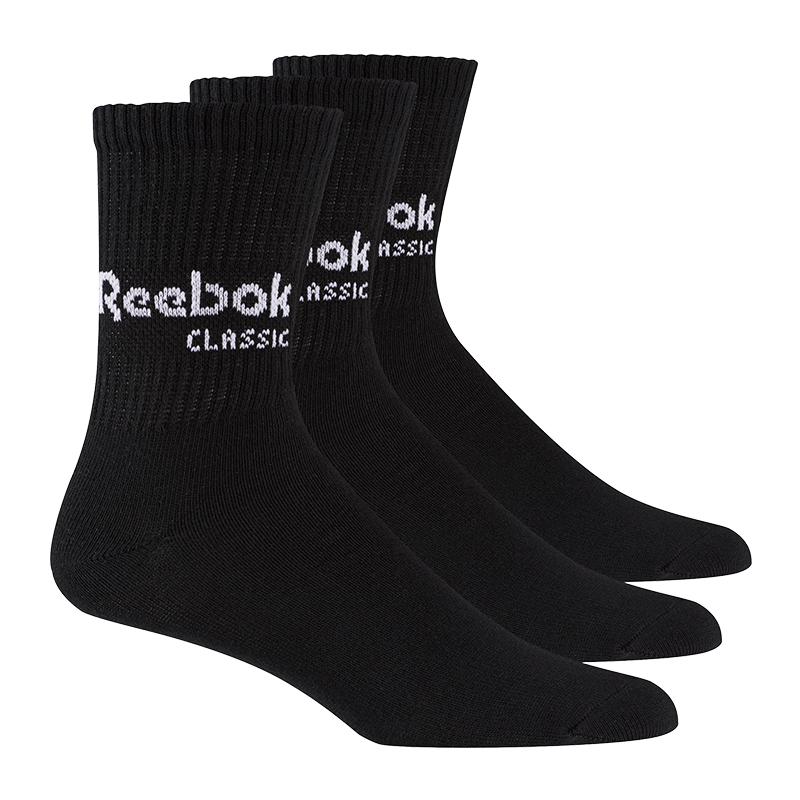 Ropa, Calzado Y Complementos Reebok Classics Core Calcetines Del Equipo Paquete De 3 Negro Ropa De Hombre