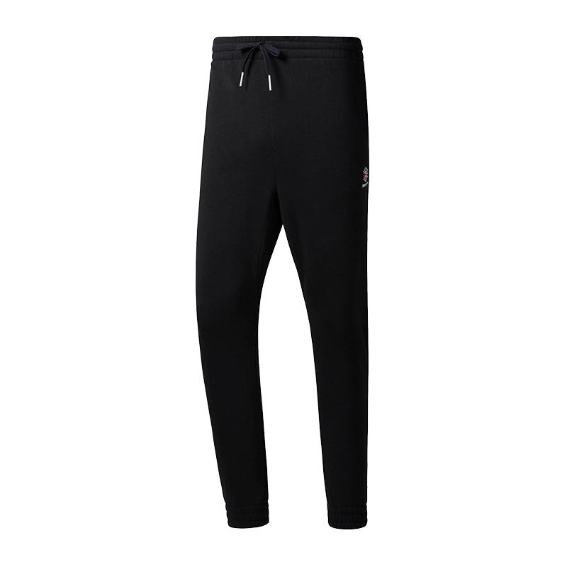 9863d24208a324 Fleece Hose lang black Classics Reebok neiyrb16085-Trousers - www ...