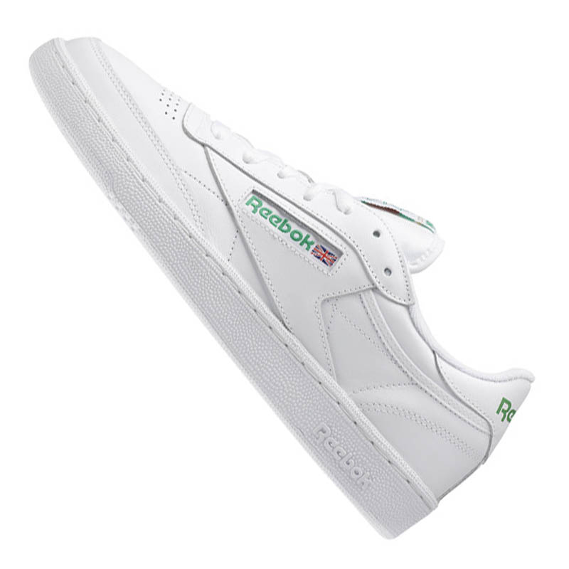 Reebok Reebok Reebok Club C 85 Zapatillas Blanco Verde 9cd47c
