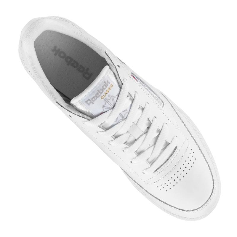 Reebok Club C85 Sneaker Weiss Damen Weiss Sneaker Grau 59fc25