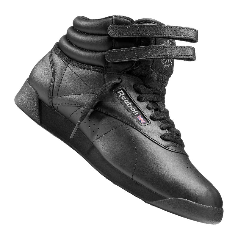 Freestyle Damen Schwarz Reebok Hi Sneaker xrdCshtQ