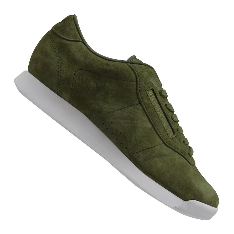 Reebok-Princess-EB-Sneaker-Women-039-s-Green-White