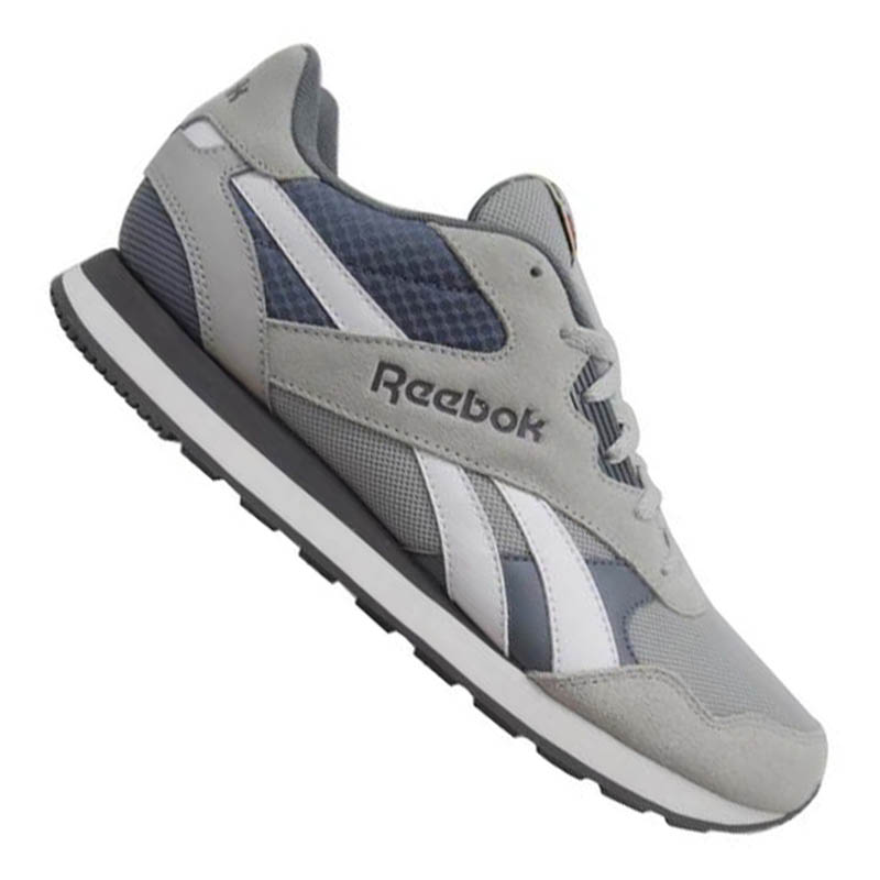 reebok royal tempo sneaker grey black ebay. Black Bedroom Furniture Sets. Home Design Ideas