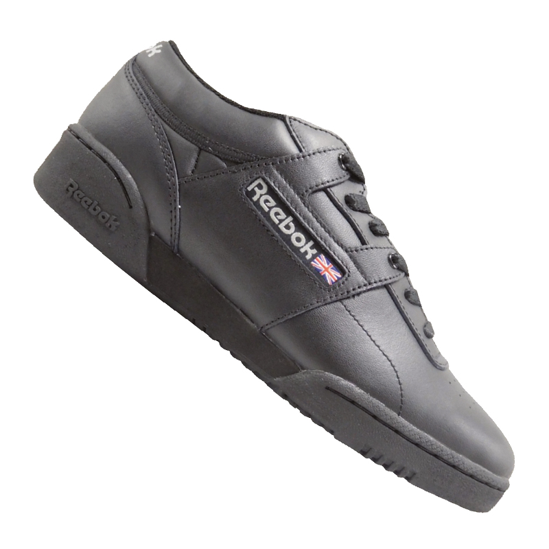 Details zu Reebok Workout Low Training Schwarz Grau