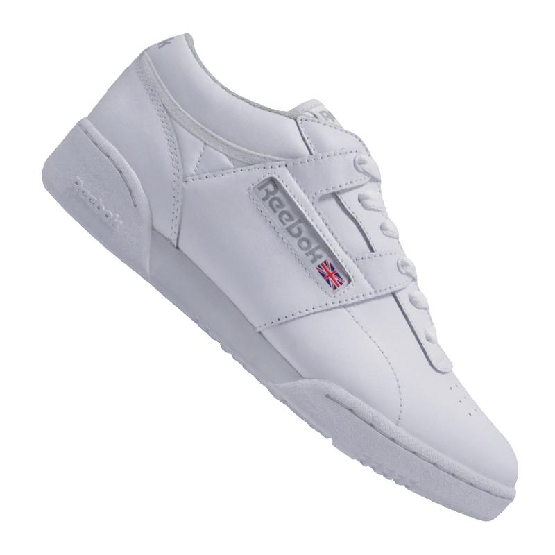 Reebok Workout Low Training Weiss grey