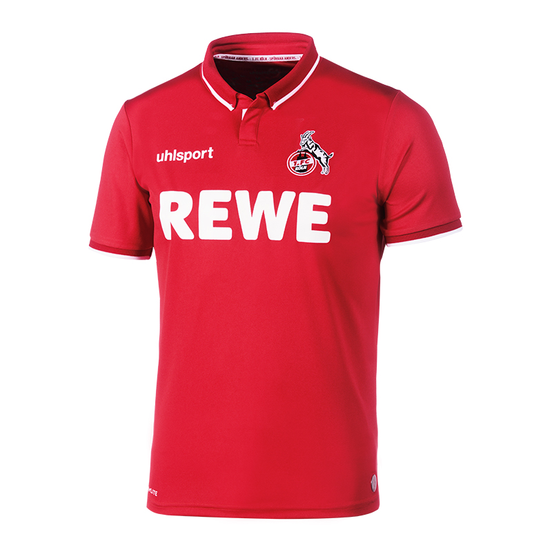Uhlsport 1. 2018/2019 FC Köln Trikot Away 2018/2019 1. Rot 4fb67c