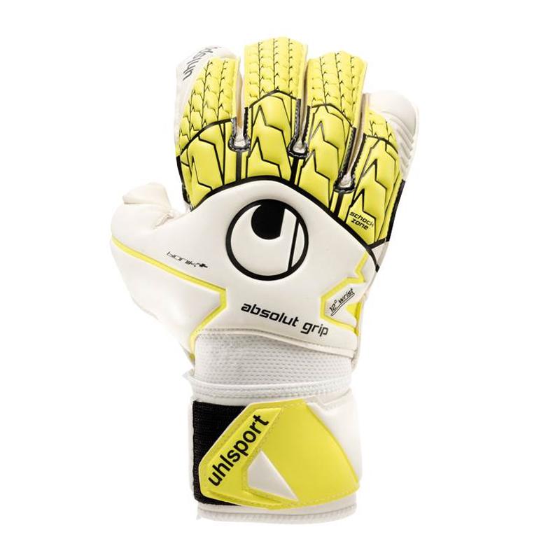 Uhlsport Absolute Grip Bionics + Yellow White F01