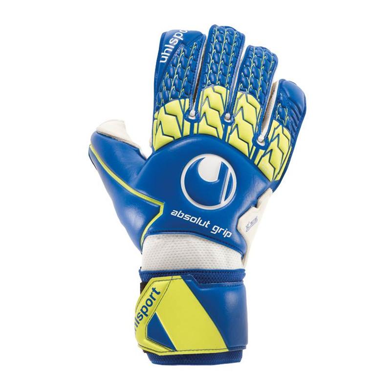 Uhlsport Absolutgrip Gant Tw bleu jaune F01