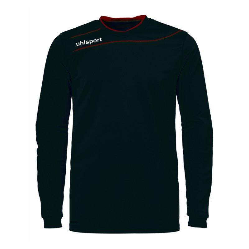 Uhlsport-Corrente-3-0-Maglia-da-Portiere-Nero-Rosso-F03