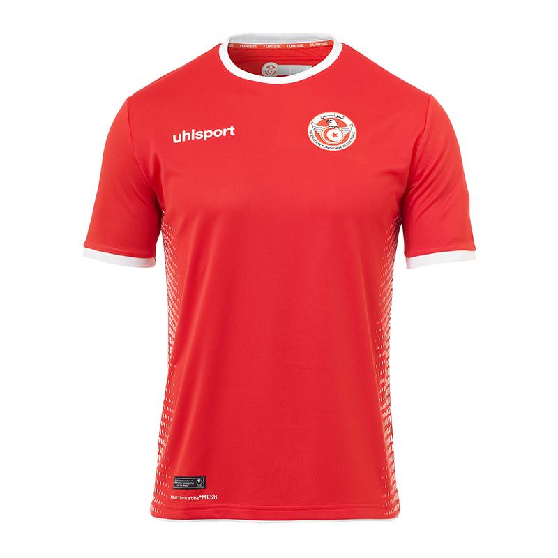 Uhlsport Tunesien Trikot Away WM 2018 Rot Weiss