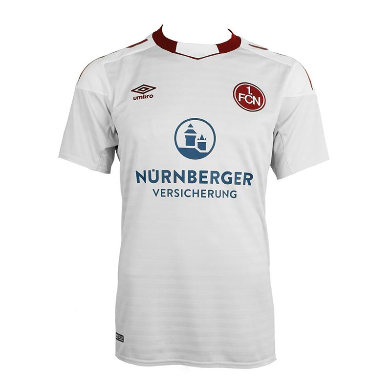 UMBRO-1-FC-NUREMBERG-Maillot-Exterieur-enfants-17-18-Blanc