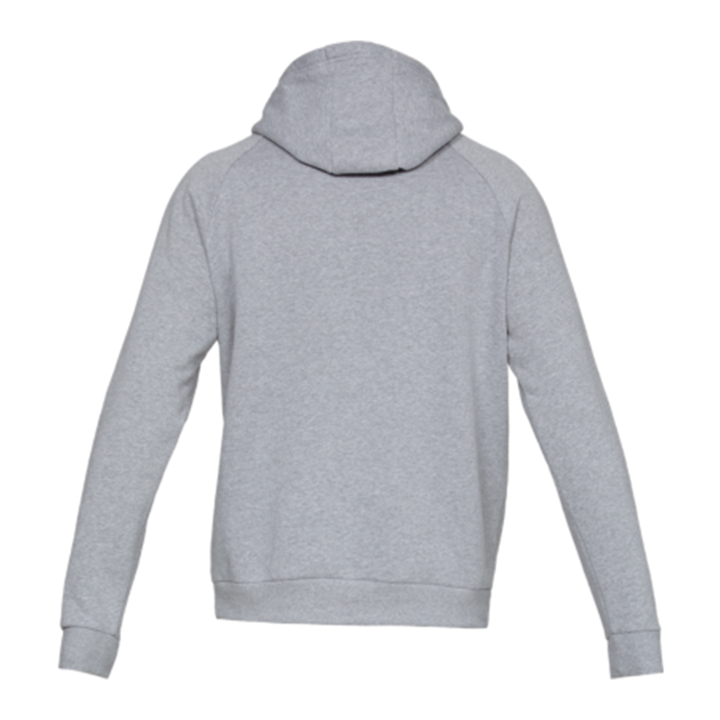 Armour Rival Grau logo capucha y Fleece Sudadera Under F035 con 4qXTOwS