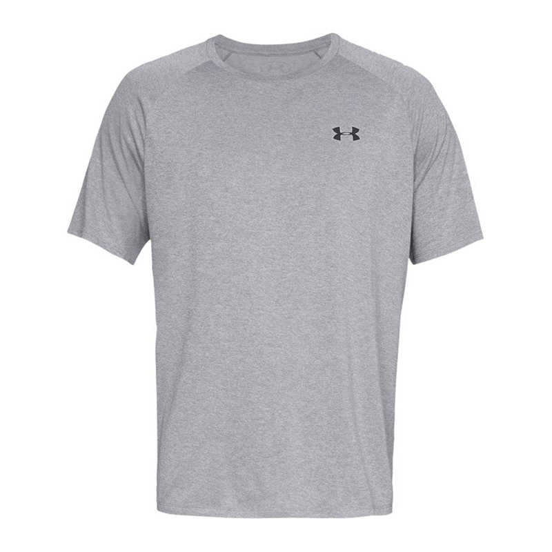 Under Armour Tech 2.0 Tee Herren Sport T-Shirt Laufshirt Running Fitness schwarz