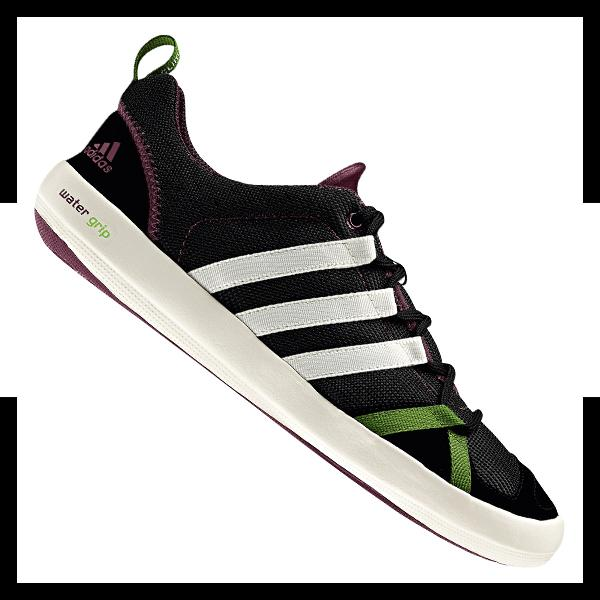 adidas mens boat cc lace sneaker schwarz weiss ebay. Black Bedroom Furniture Sets. Home Design Ideas