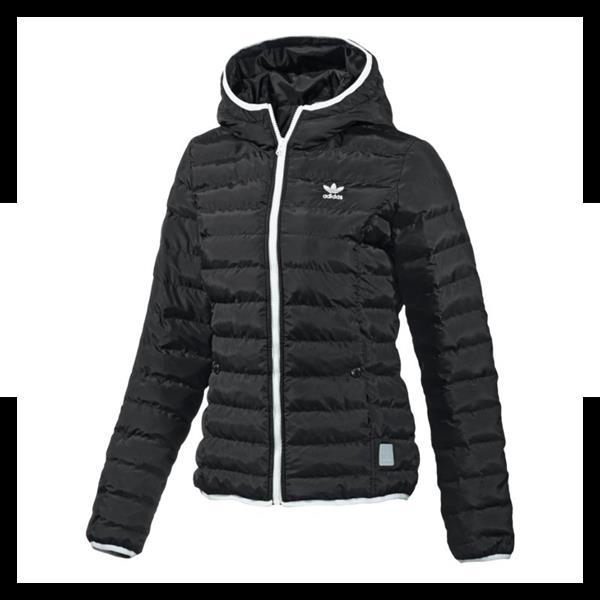 adidas originals slim jacket jacke damen schwarz ebay. Black Bedroom Furniture Sets. Home Design Ideas