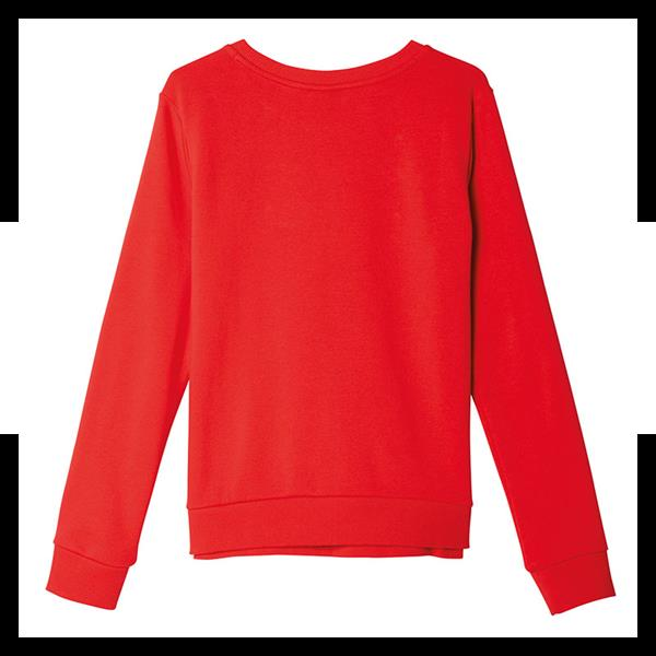 adidas originals trefoil crew sweat damen rot ebay. Black Bedroom Furniture Sets. Home Design Ideas