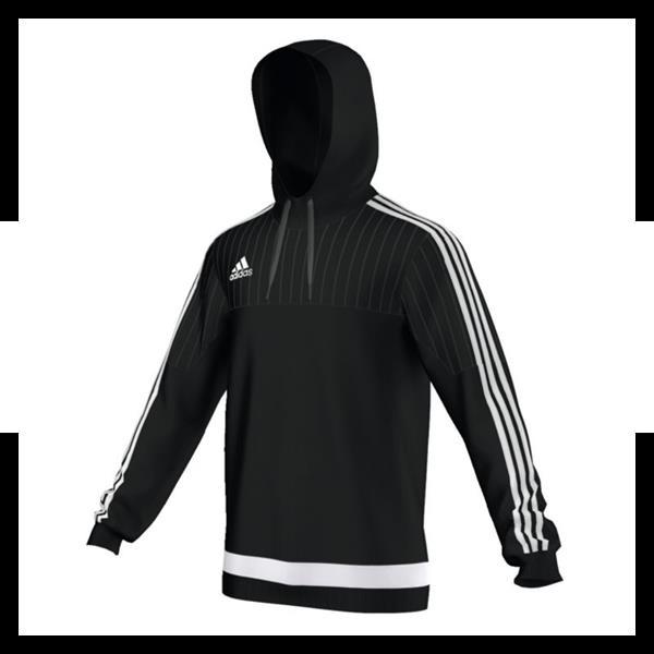 adidas tiro 15 hooded top hoody schwarz weiss ebay. Black Bedroom Furniture Sets. Home Design Ideas