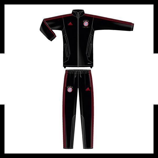 adidas trainingsanzug fc bayern m nchen 11 12 ebay. Black Bedroom Furniture Sets. Home Design Ideas