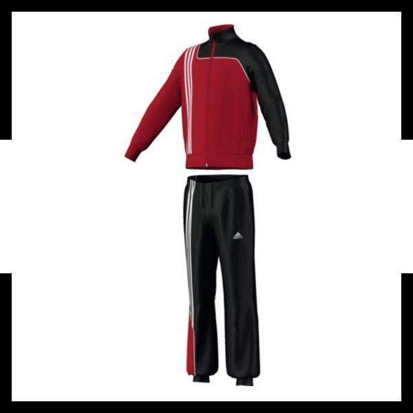 adidas sereno 11 trainingsanzug polyester rot ebay
