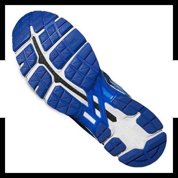 asics gel-kayano 21 lite-show running blau f4747