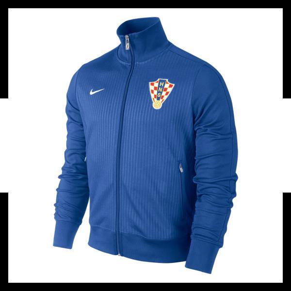 NIKE Herren Jacke N98 Croatia Authentic Trackjacket