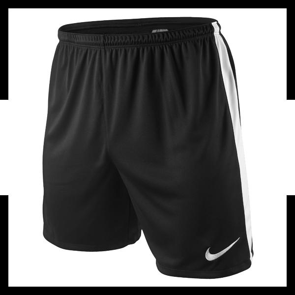 nike dri fit knit short pants kids black f011 ebay. Black Bedroom Furniture Sets. Home Design Ideas