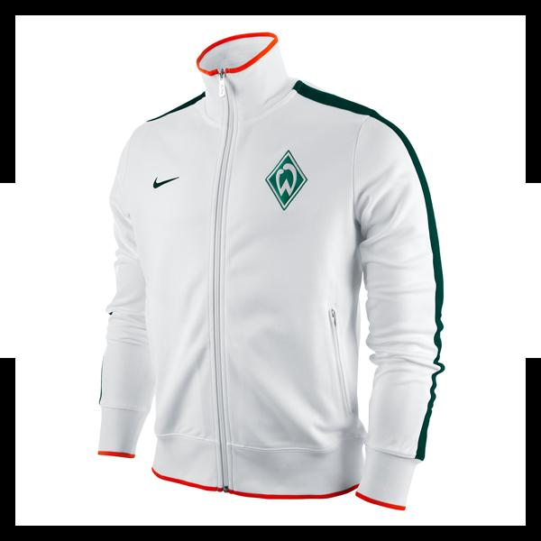 nike werder bremen authentic n98 jacke fb100 ebay. Black Bedroom Furniture Sets. Home Design Ideas