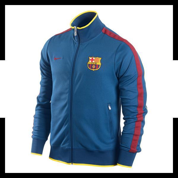 12 13 Kroatien Authentic N98 Jacke blau L Sport & Freizeit