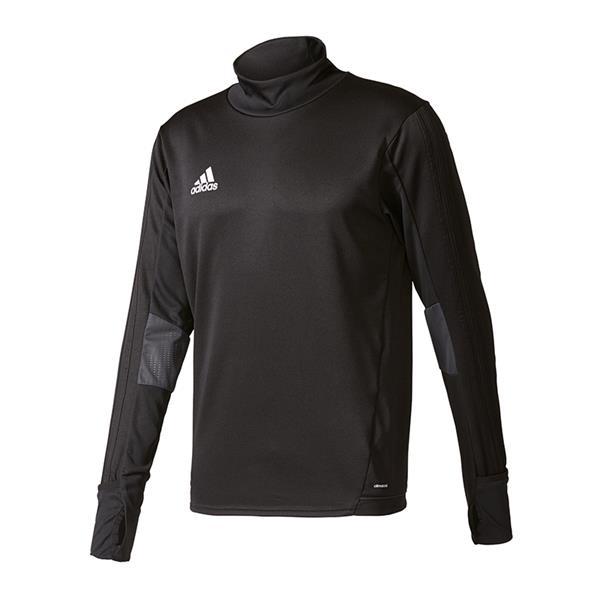 Adidas Tiro 17 trg Top T shirt manches longues Homme Noir