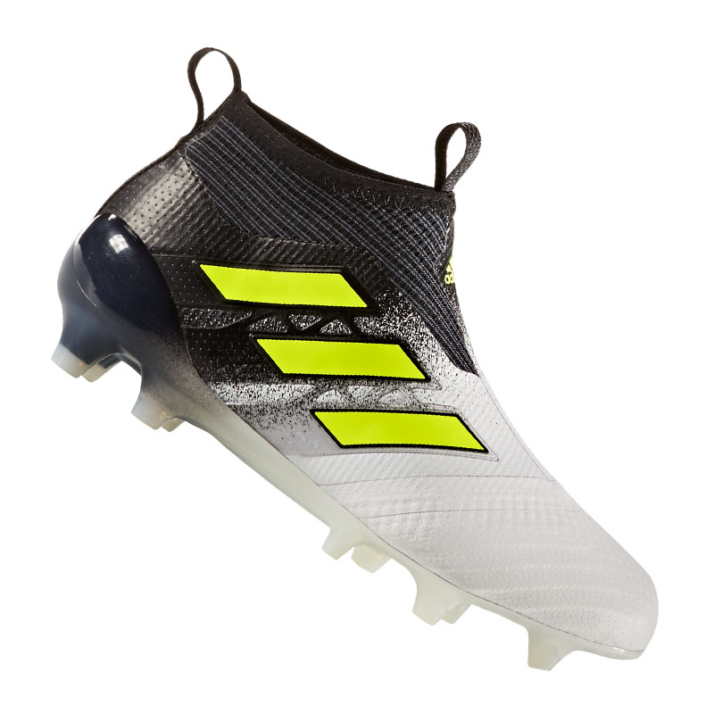 Adidas Ace 17+ Purecontrol Fg J Kids White Yellow 96502c927dc