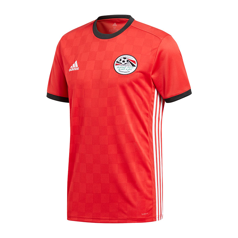 adidas Egypt Home Jersey World Cup 2018 Red XL for sale online  56738e660